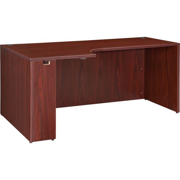 Lorell Essentials Left Corner Desk Shell