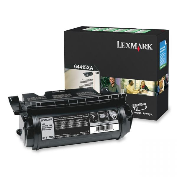 Lexmark 64415XA Black Extra High Yield Return Program Toner Cartridge