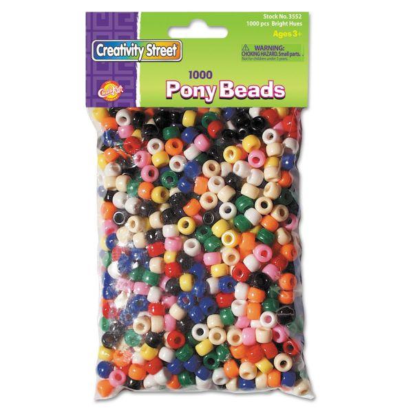 Chenille Kraft Pony Beads
