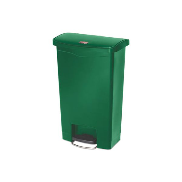 Rubbermaid Commercial Slim Jim Step-On 13 Gallon Trash Can