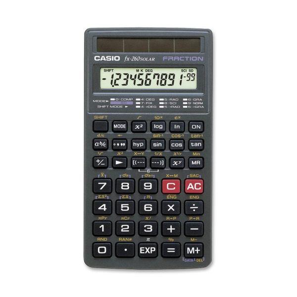 Casio FX260 Solar Scientific Calculator