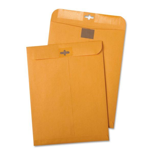 "Quality Park Redi-Tac Gummed 6"" x 9"" Clasp Envelopes"
