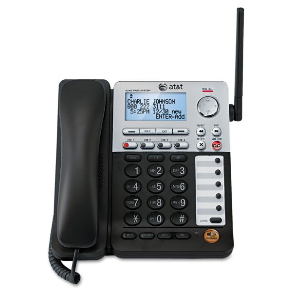AT&T SB67148 Additional Cordless 4-Line Deskset for SB67138 Base