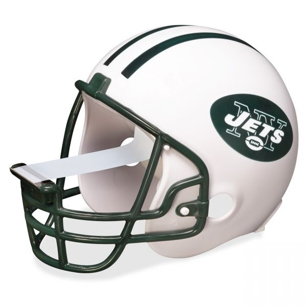 Scotch New York Jets NFL Helmet Tape Dispenser