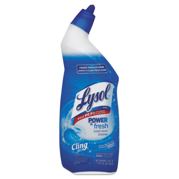 LYSOL Brand Cling Toilet Bowl Cleaner