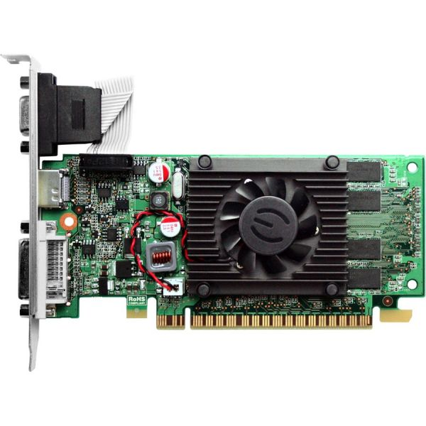 EVGA 512-P3-1310-LR GeForce 210 Graphic Card - 520 MHz Core - 512 MB DDR3 SDRAM - PCI Express 2.0 x16