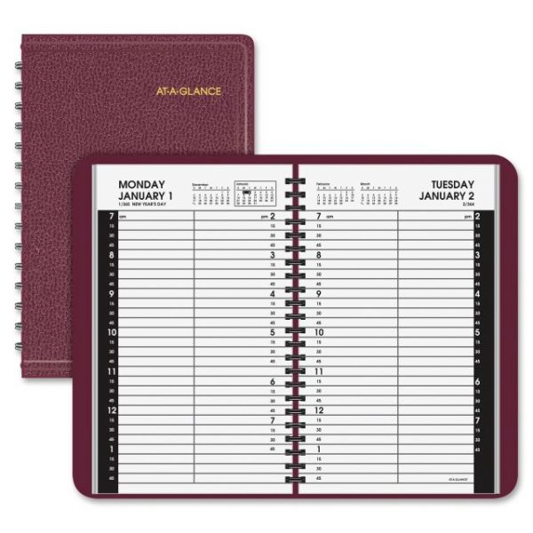 At-A-Glance Daily Appointment Book