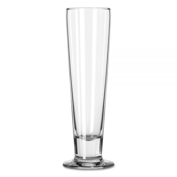 "Libbey Catalina Footed Beer Glasses, Tall Beer, 14.5oz, 9 3/8"" Tall, 24/Carton"