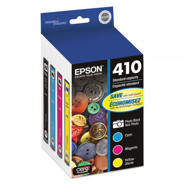 Epson 410 Ink Cartridge Value Pack (T410520)