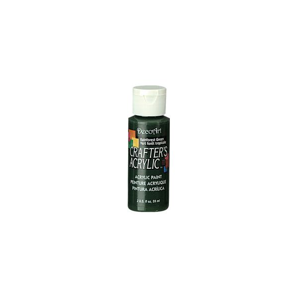 Deco Art Rainforest Green Crafter's Acrylic Paint