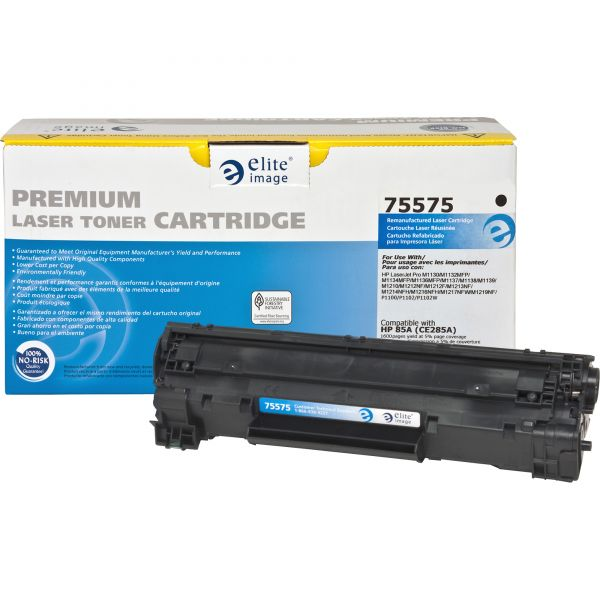 Elite Image Remanufactured HP 85A (CE285A) Toner Cartridge