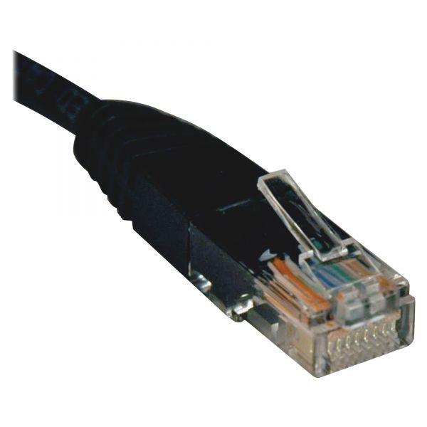 Tripp Lite 10ft Cat5e / Cat5 350MHz Molded Patch Cable RJ45 M/M Black 10'