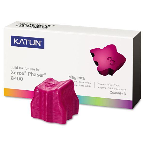 Katun 38705 Compatible 108R00606 Solid Ink Stick, Magenta, 3/BX