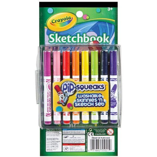 Crayola Pip-Squeaks Skinnies 'n Sketch Set