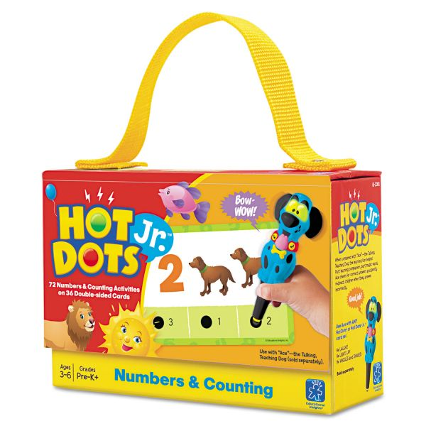 Hot Dots Jr. Card Set Numbers & Counting