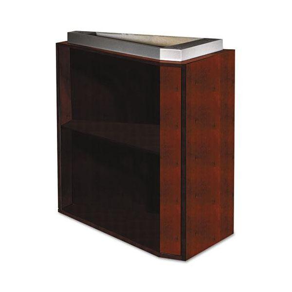 Tiffany Industries Eclipse Series False Pedestal for Desk Top, 15w x 36d x 27-3/4h, Warm Cherry