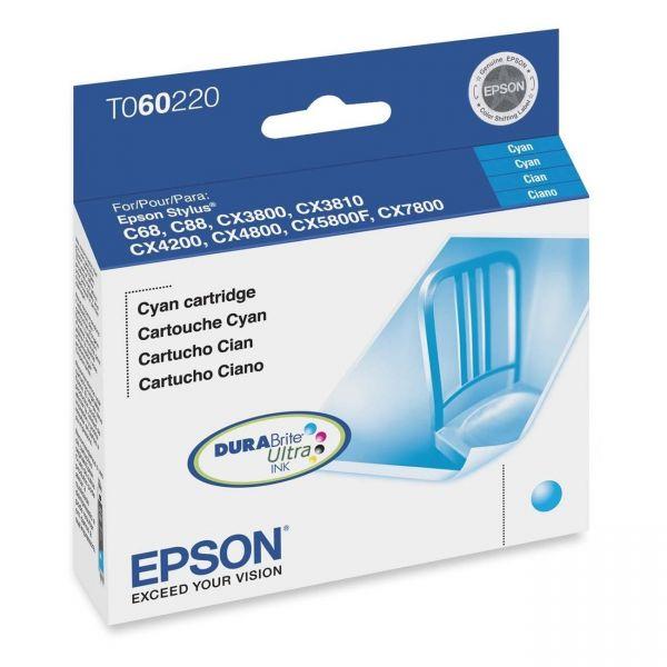 Epson T0602 Cyan Ink Cartridge