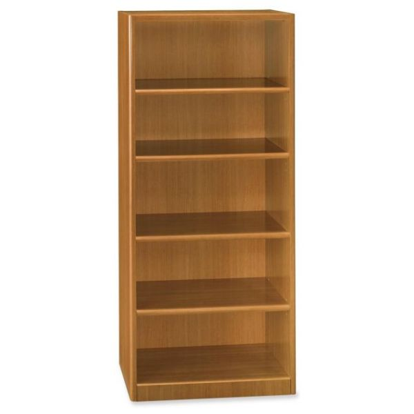 bbf Quantum QT3605MC Five Shelf Bookcase by Bush Furniture