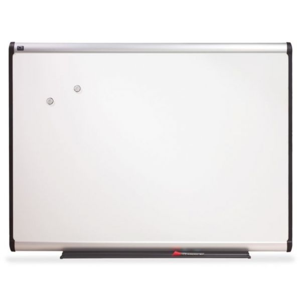 "Quartet 96"" x 48"" Prestige Plus DuraMax Magnetic Porcelain Dry Erase Whiteboard"
