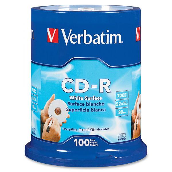 Verbatim Recordable CD Media