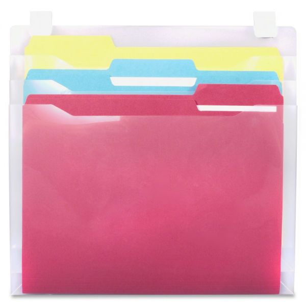 Advantus Transparent Panel Wall File Pockets