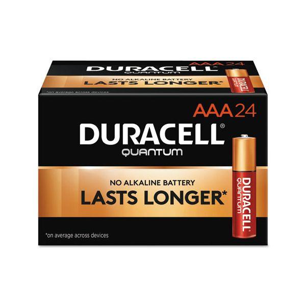 Duracell Quantum Alkaline Batteries, AAA, 144/CT