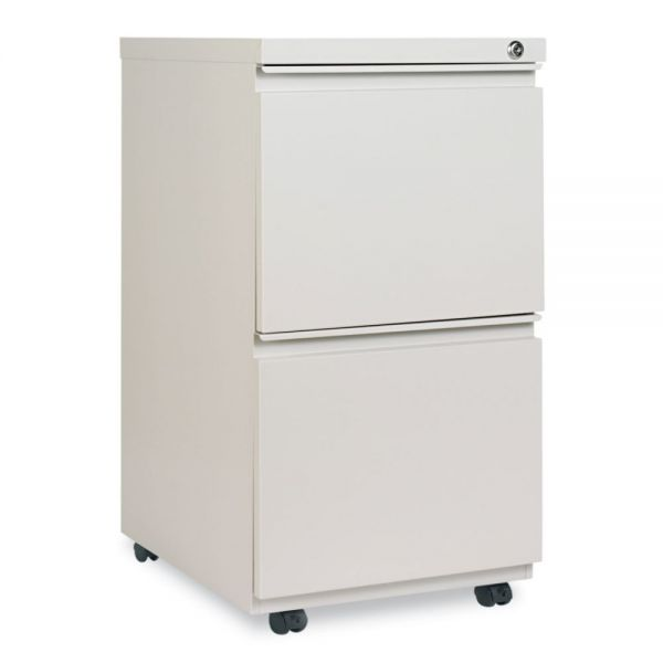 Alera Two-Drawer Mobile Pedestal File With Full-Length Pull