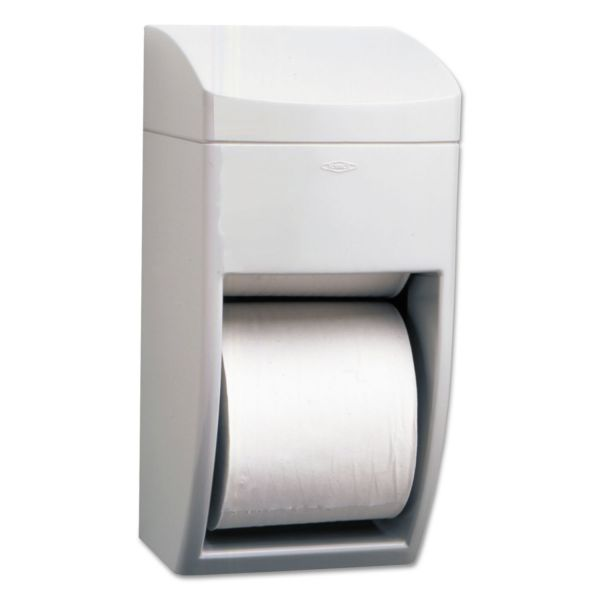 Bobrick Matrix Series Two-Roll Toilet Paper Dispenser
