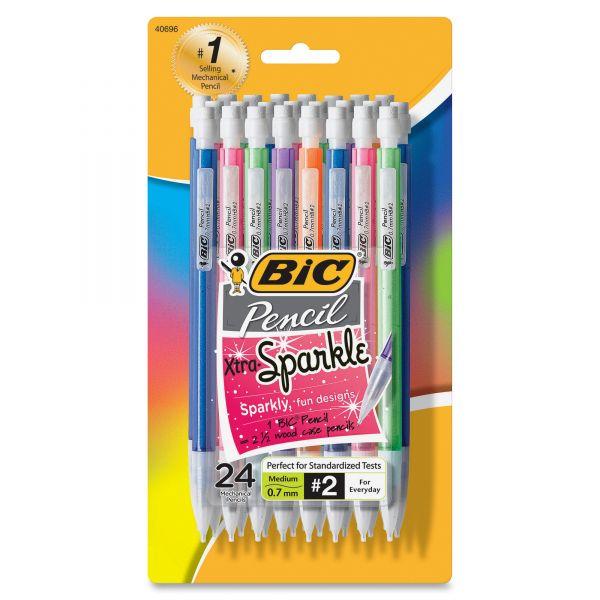 BIC Xtra Sparkle 0.7 Mechanical Pencils