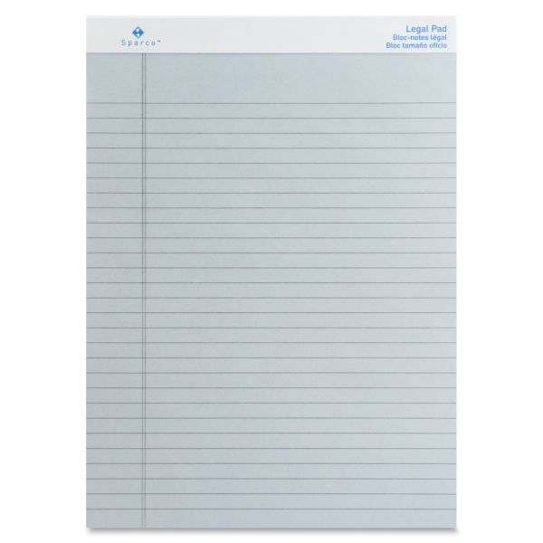 Sparco Colored Letter-Size Legal Pads