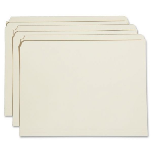 SKILCRAFT Reinforced Top Tab Manila File Folders