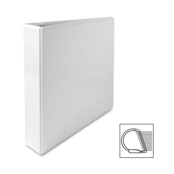 "Sparco Deluxe 1 1/2"" 3-Ring View Binder"
