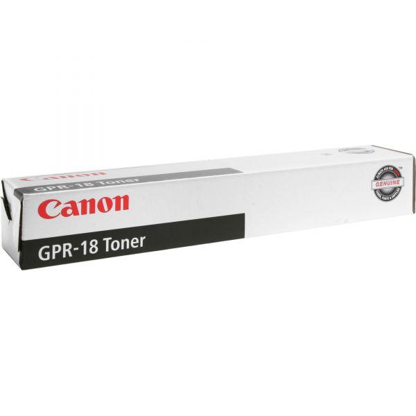 Canon GPR-18 Black Toner Cartridge (0384B003AA)