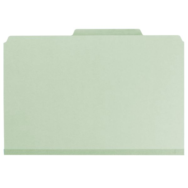 Smead SafeSHIELD Colored Pressboard Classification Folders