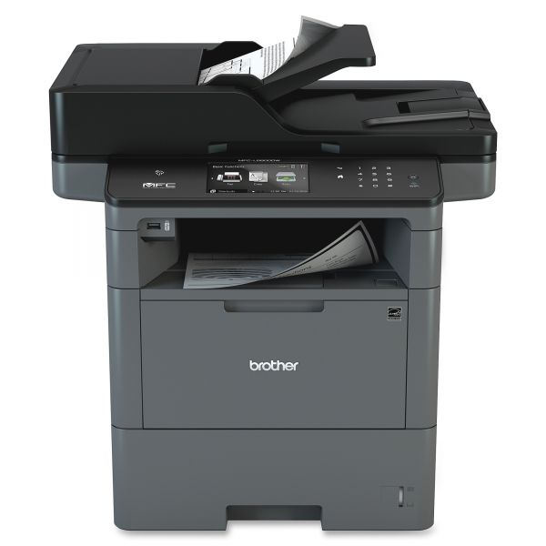 Brother MFC-L6800DW Wireless Business Laser All-in-One Printer, Copy/Fax/Print/Scan