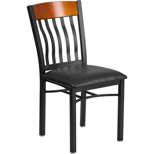 Flash Furniture Eclipse Series Vertical Back Restaurant Chair
