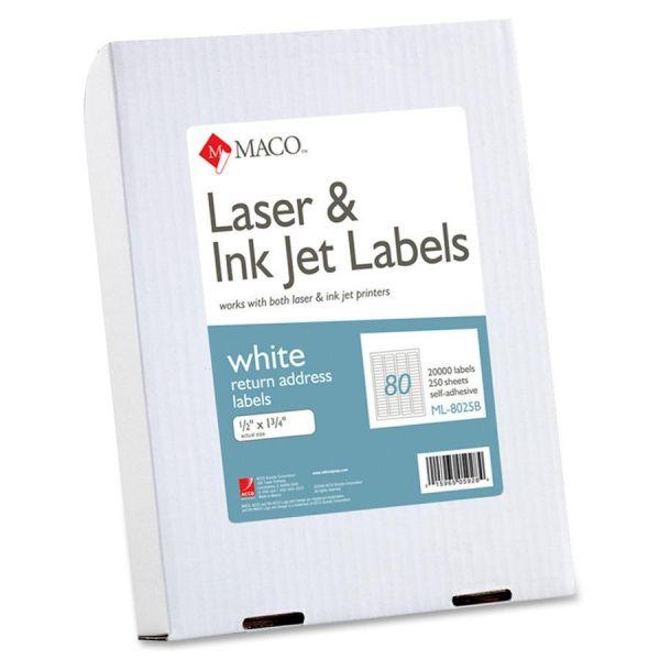 Maco Return Address Labels