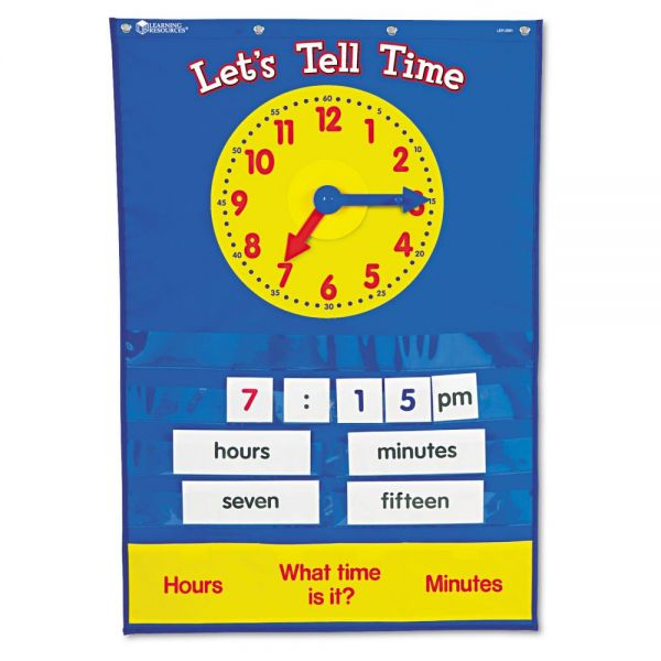 Teaching Time Pocket Chart