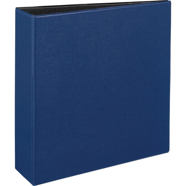"Avery Durable 3-Ring Binder, 3"" Capacity, Slant Ring, Blue"