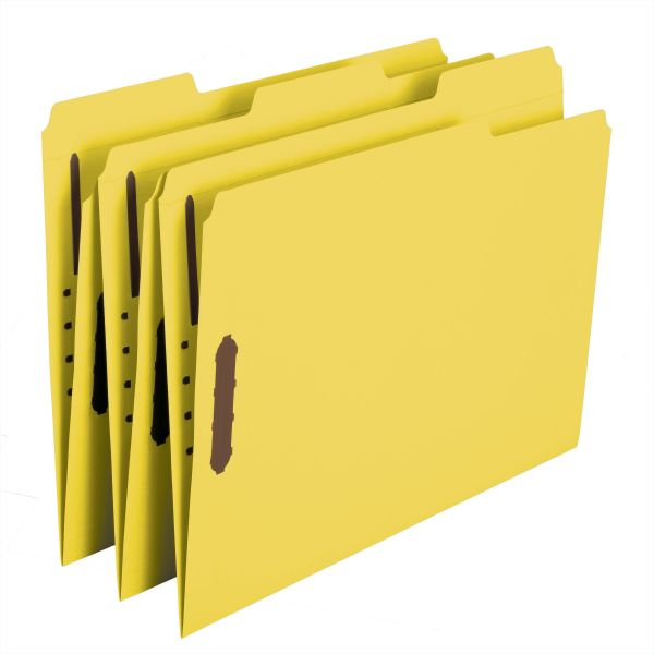 Smead Reinforced Top Tab File Folders With Fasteners