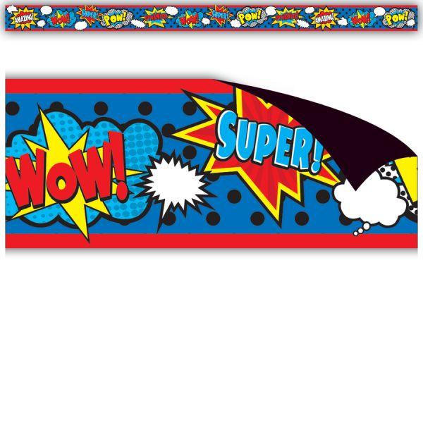 Teacher Created Resources Superhero Magnetic Border