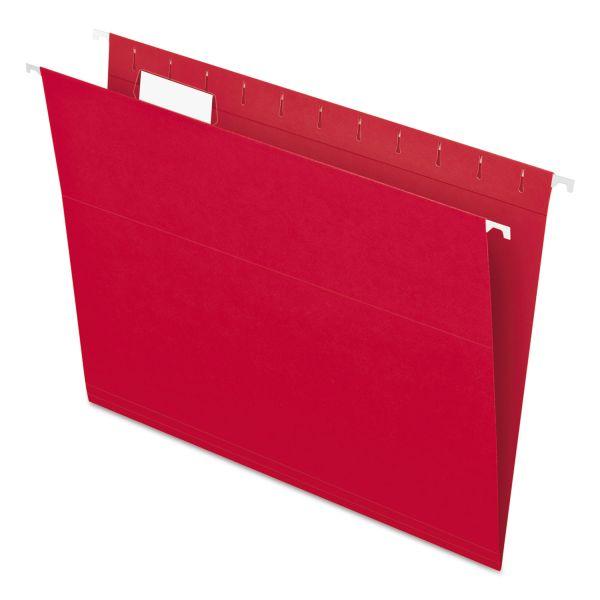 Pendaflex Essentials Colored Hanging File Folders