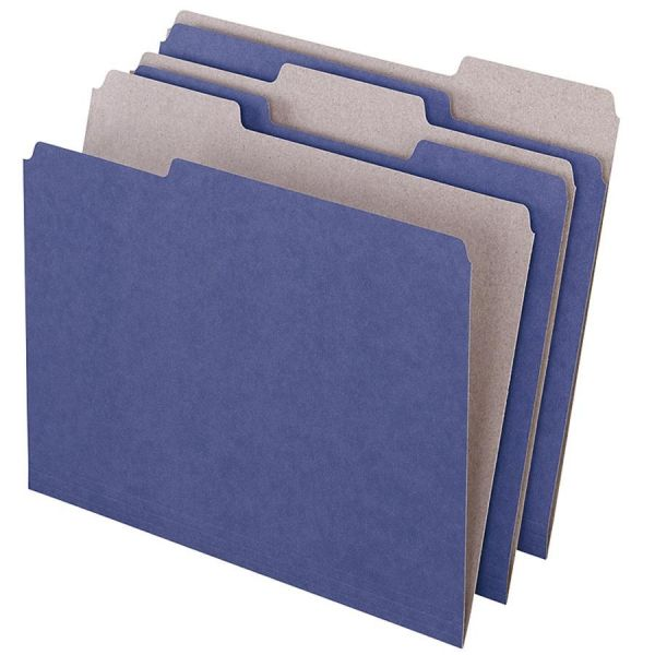 Pendaflex EarthWise Recycled Purple Colored File Folders