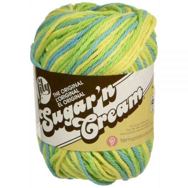 Lily Sugar'n Cream Yarn - Summer Splash