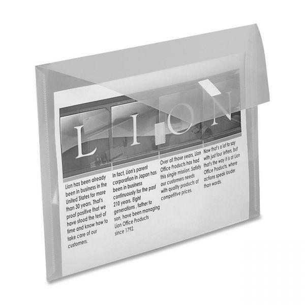 Lion Design-R Line Poly-Hide Envelope w/ Front Pocket