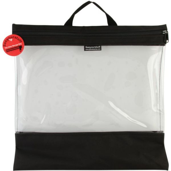 "Seeyourstuff Clear Storage Bag 16""X16"""