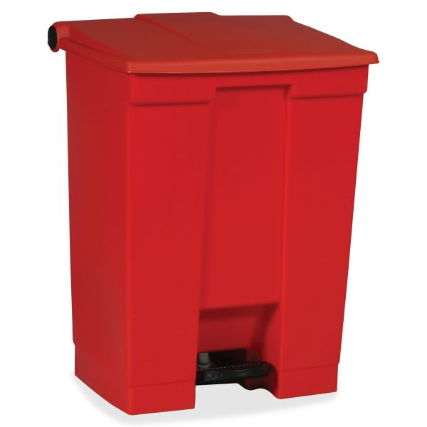 Rubbermaid Step-On 18 Gallon Trash Can With Lid