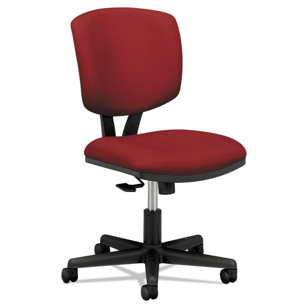 HON Volt Series Task Chair with Synchro-Tilt, Crimson Fabric