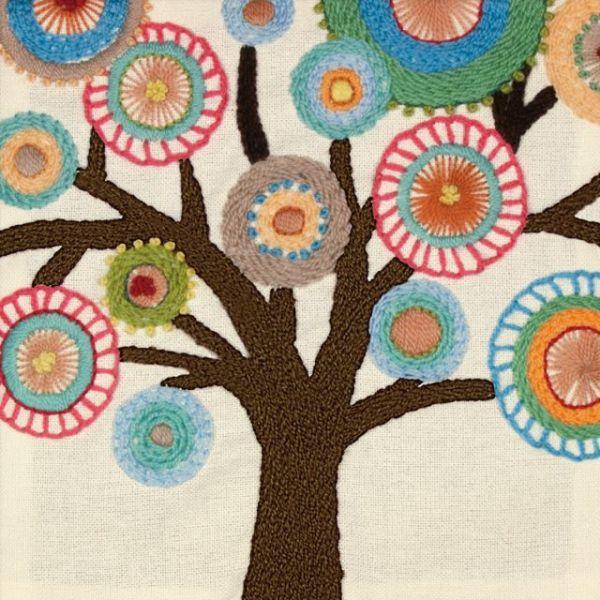 Handmade Collection Tree Crewel Embroidery Kit