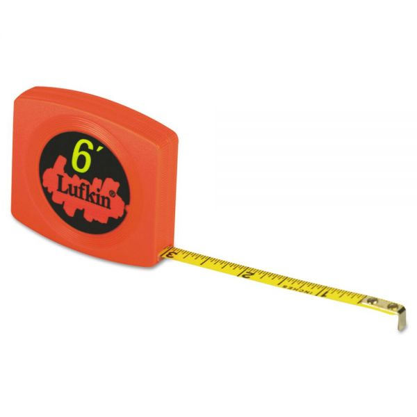 Lufkin Pee Wee Pocket Measuring Tape, 6ft